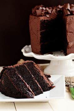 There are no words necessary for this cake.  Coffee and Beer and Chocolate <3