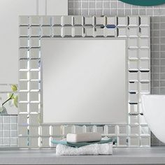 HIB Fuzion Bathroom Mirror Shelf