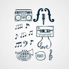 La musique dans la peau! - http://www.bernardforever.fr/products/la-musique-dans-la-peau#