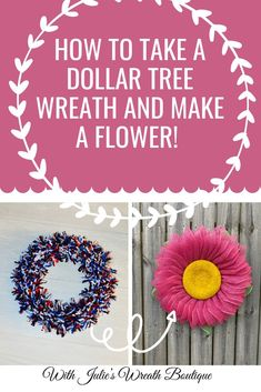How to make a Wreath, Wreath Making, Flower Decor, Flower Wreath, DIY Crafting, DIY Wreath Instructions, Wreath Tutorial, Wreath's Made by Julie, Julie's Wreaths #Diyhomedecor #wreaths