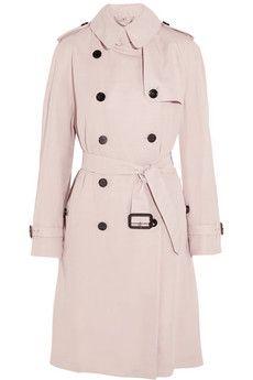 Burberry London Gabardine trench coat | NET-A-PORTER