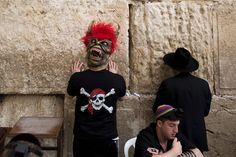 Augenblick: Juden beten in Jerusalem - SPIEGEL ONLINE
