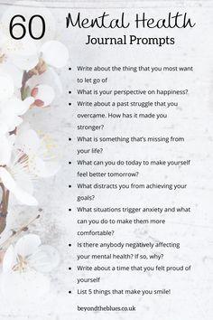 Mental Health Journal, Mental And Emotional Health, Mental Health Questions, Mental Health Blogs, Mental Health Therapy, Mental Health Disorders, Emotional Healing, Stress Meditation, Gratitude Journal Prompts
