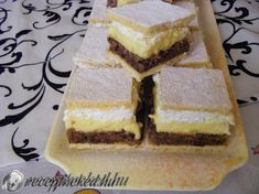 Sweet Cookies, Cake Cookies, Hungarian Cookies, European Dishes, Hungarian Recipes, Hungarian Food, Sweet And Salty, Cakes And More, No Bake Cake