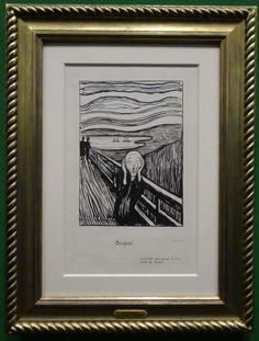 http://happyface313.com/2015/11/14/pray-for-paris-pray-for-the-world/ - HappyFace313 Albertina Edvard Munch Scream Geschrei
