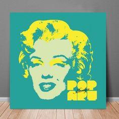 POP ART Marilyn - Verde