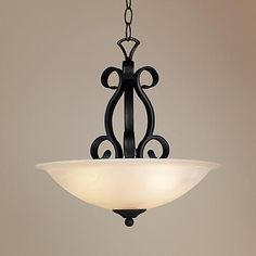 """Manchester Collection 20"""" Wide Pendant  Chandelier"""