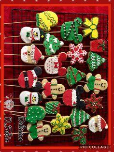 Christmas cookies / Galletas decoradas de navidad