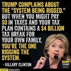 Exactly Mrs. Clinton, but still his voters believe he is to make their lives better.
