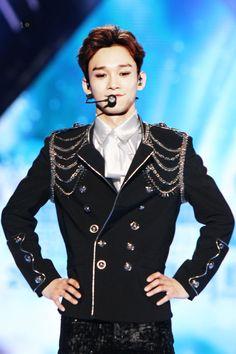 170603 - Chen at Dream Concert 2017 (cr. K Pop, Chanyeol Baekhyun, Dream Concert, Xiuchen, Kim Jongdae, Kpop Exo, Korean Boy Bands, Exo Members, Chinese Boy