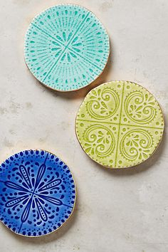 Murano Coaster - anthropologie.com