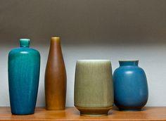 Danish midcentury ceramics,  Saxbo and Palshus.