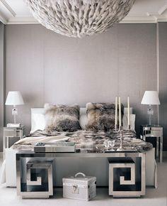 ** The plush master bedroom.