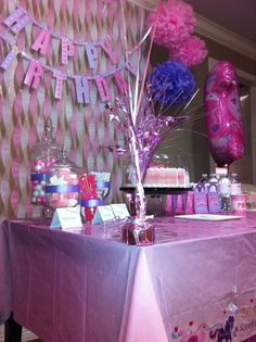 First Birthday Decor On A Budget For My Sophia Pink And Lavender Princess Party Dollar TreePrincess