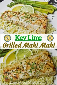 Key Lime Grilled Mahi Mahi Enjoy these top-rated grilled fish recipes outdoors this summer. Recipes include gingered honey salmon, tilapia piccata and even grilled fish tacos. Grilled Fish Recipes, Pork Rib Recipes, Grilling Recipes, Seafood Recipes, Cooking Recipes, Tilapia Recipes, Grilling Ideas, Grilled Mahi Mahi, Mahi Fish