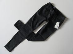 NWT Bullhead Skinniest in Black Sparkle Glitter Coated Destroyed Stretch Jeans 1 #Bullhead #SuperSkinny