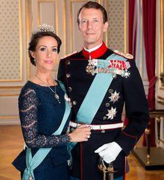 New Official Photos of Princess Mary of Denmark and Prince Joachim of Denmark