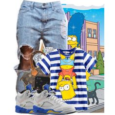 """""""-MUAH- ❤️"""" by toren-rebel on Polyvore cheap Air Jordan 5 LANEY only $65, save up to 58% off for all #Nikes #Shoes"""