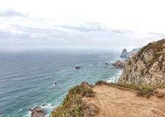 At the edge of the world. Well... The edge of continental Europe that is. This picture was taken at the westernmost point on the continent near Sintra in Portugal. Amazing to think that just over 500 years ago explorers sailed forth to the West expecting to encounter Asia yet landed in the Americas instead.