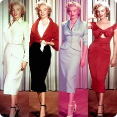 Marilyn Monroe Costume Test Photos 1953-1962. Too Gorgeous For Words