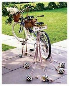 bicicleta recepção casamento - Pesquisa Google
