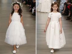 Flower Girl dresses  2014 Oscar De La Renta Bridal Collection – New York Bridal Fashion Week