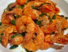 Ginger Scallion Tiger prawn recipe