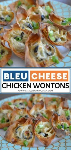Bleu Cheese Chicken Wontons Looking for a crowd-pleasing holiday appetizer? Bleu Cheese Chicken Wontons Looking for a crowd-pleasing holiday appetizer? Wonton Appetizers, Holiday Appetizers, Appetizer Recipes, Holiday Parties, Party Recipes, Dip Recipes, Holiday Treats, Holiday Recipes, Easy Party Food