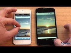 iPhone 5 vs. Nexus 4