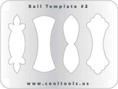 Jewelry Shape Template - Bails #2