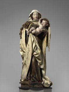Dangolsheimer Madonna. Staatl. Museum zu Berlin, Preußischer Kulturbesitz, Berlin. um 1460. Meister der...