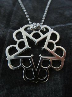 Black Veil Brides necklace. I need this like right now.