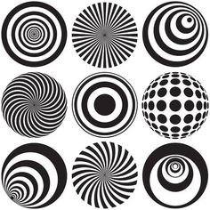 - Millions of Creative Stock Photos, Vectors, Videos and Music Files For Your Inspiration and Projects. inspiration Optical Art in Black and White Stock Art, Illusion Kunst, Illusion Drawings, Black And White Posters, Dot Art Painting, Zentangle Patterns, Optical Illusions, Optical Illusion Tattoo, Geometric Art