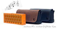 Great holiday gift: Jawbone Mini Jambox Speaker CITYSLICKER CASE | Take the music along! | http://www.sfbags.com/products/jawbone-mini-jambox-case