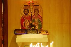 The Meaning of Candles in the Greek Orthodox Church - California Greek Girl — California Greek Girl Greek Artifacts, St Constantine, Greek Icons, Church Icon, Orthodox Easter, Greek Girl, Greek Easter, Sign Of The Cross, Holy Week