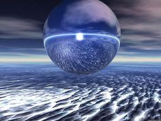 Blue Sand Orb