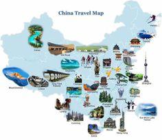 China Travel Map    http://www.carltonleisure.com/travel/flights/china/