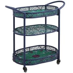 260$ Peacock Serving Cart From Pier 1 imports