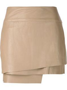 Helmut Lang falda a capas                                                       …