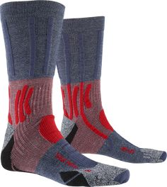 X-SOCKS® TREK PATH | X-BIONIC® International X Bionic, Intelligent Technology, Ski Socks, Good Environment, Women's Feet, Midnight Blue, Barefoot, Trek, Heels