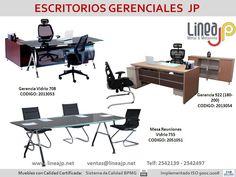 Escritorios Gerenciales y Mesas de Reuniones Jp