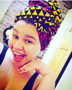 @doyounikkijay looking too cute in the Awa #Headwrap!!!! Shop @ http://ift.tt/1kuHFKj  Tags: #fallfashion #ceeceesclosetnyc #ceeceescloset #headwraps #headwrap