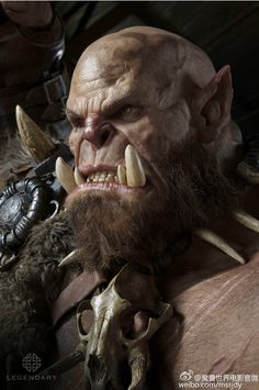 m Orc Barbarian portrait Ogrim Doomhammer World Of Warcraft Game, Warcraft Movie, Warcraft Art, Fantasy Wizard, Fantasy Races, Dark Fantasy, Fantasy Art, Fantasy World, Final Fantasy