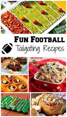 Fun Football Tailgating Recipes