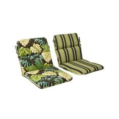 Reversible-Patio-Cushion-Furniture-Backyard-Garden-Green-Chair-Seat-Pad-Poolside