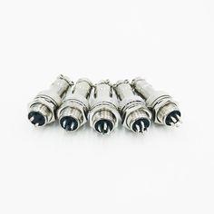 GX12 12mm aviation connector 2pin3Pin4Pin5Pin6Pin7Pin quick connector 5A 125v Male Socket&Female plug