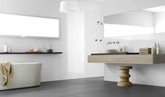 Wet area laminate panelling – Aquapanel by Laminex Australia – Selector Bathroom Styling, Bathroom Interior, Bathroom Decor, Amazing Bathrooms, Bathrooms Remodel, Tile Bathroom, Simple Bathroom, Bathroom Wall Panels, Bathroom Renovations