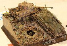 Pics from Loveland show by M. Plastic Model Kits, Plastic Models, Tilt Shift Photography, Military Action Figures, German Uniforms, Model Hobbies, Model Tanks, Lego War, Military Modelling