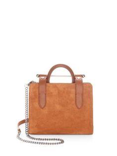 STRATHBERRY - Suede Crossbody Bag