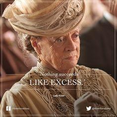 Lady Violet Downton Abbey